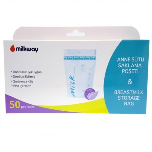 Milkway Süt Saklama Poşeti 50 li