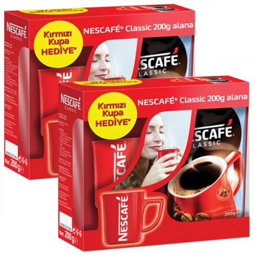 Nescafe Classic  200 Gr (Fincan Hediye) x 2 Adet