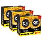 Okey Prezervatif Hisset 40lı x 3 Adet