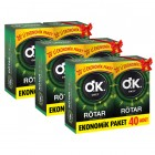 Okey Prezervatif Rötar 40lı x 3 Adet