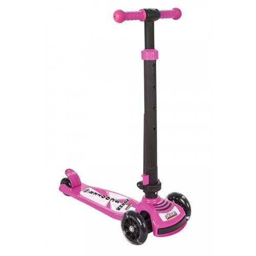 Pilsan Power Işıklı Scooter Pembe 07-354