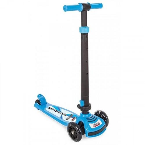 Pilsan Power Işıklı Scooter Mavi 07-354