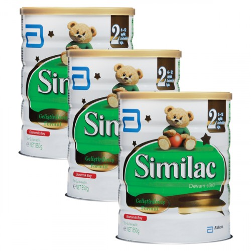 Similac 2 Devam Sütü 850 gr x 3 Adet
