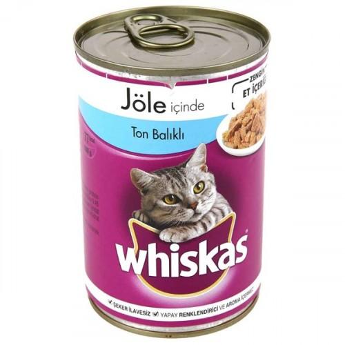 Whiskas Tonbalıklı Kedi Maması Konserve 400 gr