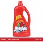 Woolite Sıvı Çamaşır Deterjanı Canlı Renkler 3 lt