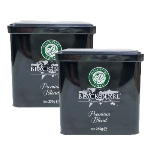 Black Pearl Premium Blend Filtre Kahve Teneke 250 gr x 2 adet