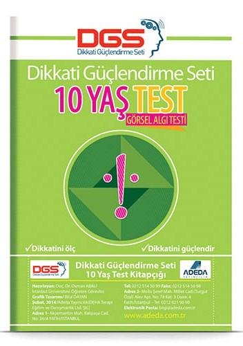 DGS 10 Yaş Görsel Algı Testi - Osman Abalı