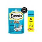 Dreamies Somonlu Kedi Ödül Maması 60 gr x 6 adet