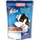 Felix Pouch Somon ve Sardalyalı Yaş Kedi Maması 100 gr