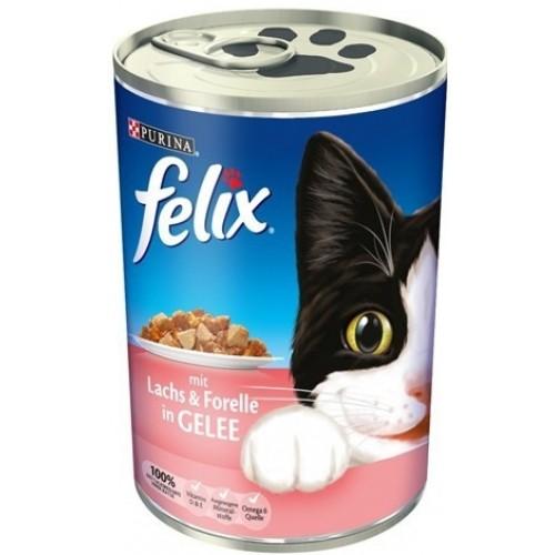 Felix Somon ve Alabalıklı Kedi Konservesi 400 gr