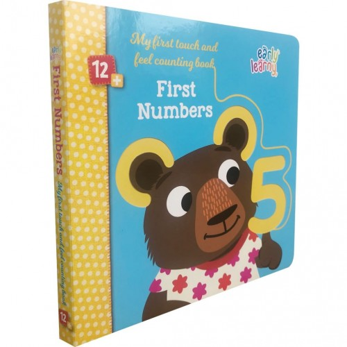 First Numbers - My First Touch and Feel Counting Book
