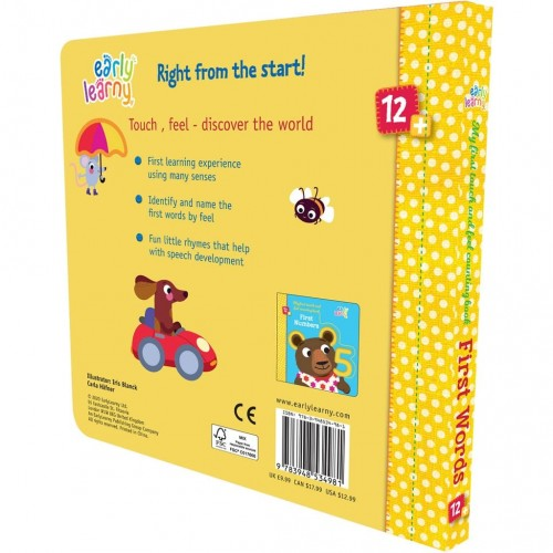 First Words - My First Touch and Feel Counting Book