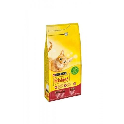 Friskies Etli Yetişkin Kedi Maması 1,7 gr