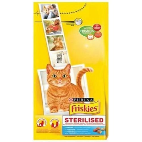 Friskies Sterilised Somon Kısırlaştırılmış Kedi Maması 10 kg