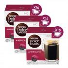 Nescafe Dolce Gusto Coffee Americano 16 Kapsül x 3 Adet