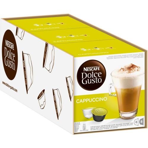 Nescafe Dolce Gusto Coffee Cappuccino 16 Kapsül x 3 Adet