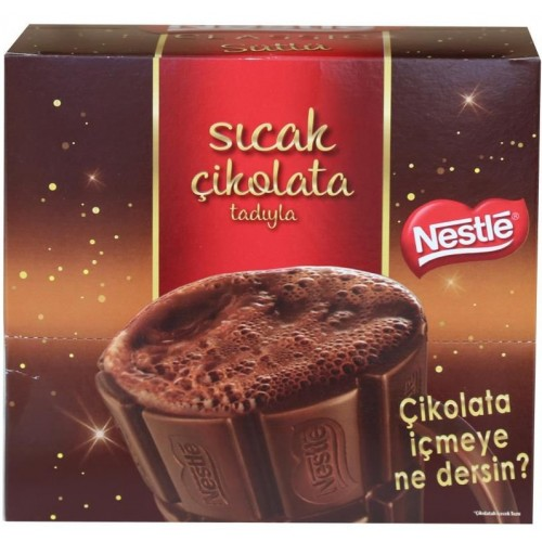 Nestle Sıcak Çikolata 18.5 gr x 24 Adet
