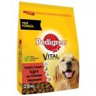 Pedigree Kuru Yetişkin Sığırlı & Kümes Hayvanlı Köpek Maması 2,6 kg
