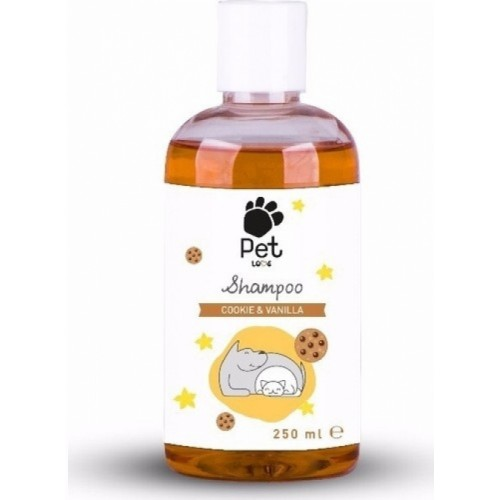 Pet Love Eco Kedi & Köpek Şampuanı Cookie & Vanilla 250 ml