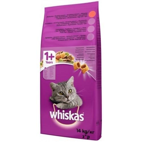 Whiskas Kuru Yetişkin Biftek & Havuç Kedi Maması 14 kg