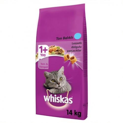 Whiskas Kuru Yetişkin Ton & Sebze Kedi Maması 14 kg