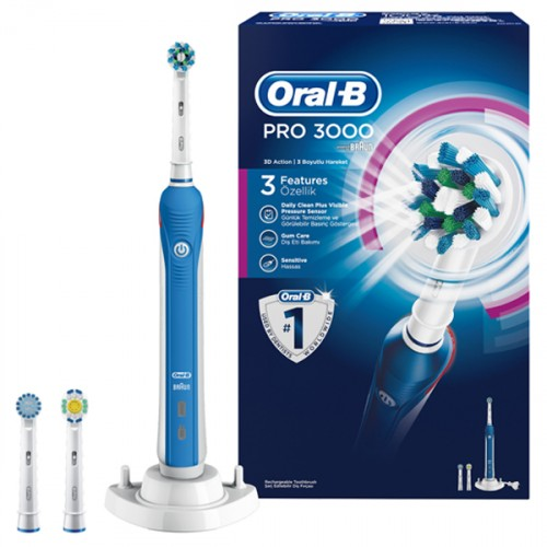 Oral-B D20 Pro-Care 3000 Şarj Edilebilir Diş Fırçası