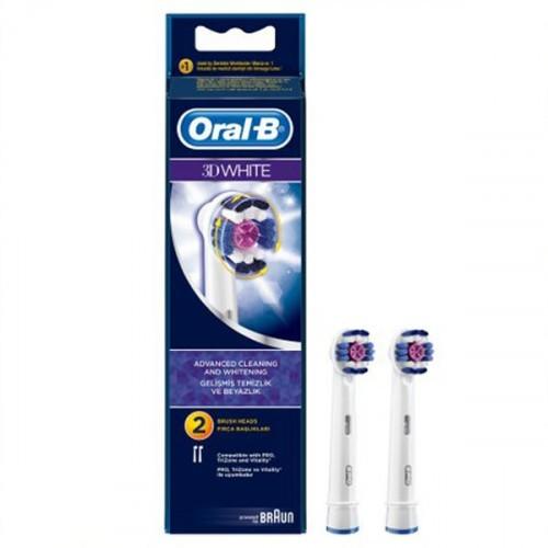 Oral-B Diş Fırçası Yedek Başlığı 3D White 2 li