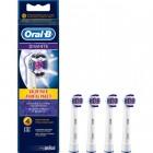 Oral-B Diş Fırçası Yedek Başlığı 3D White 4 lü