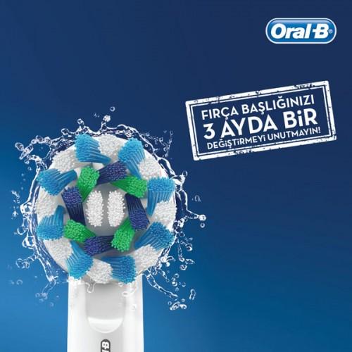 Oral-B Diş Fırçası Yedek Başlığı Cross Action 4 lü x 3 Adet
