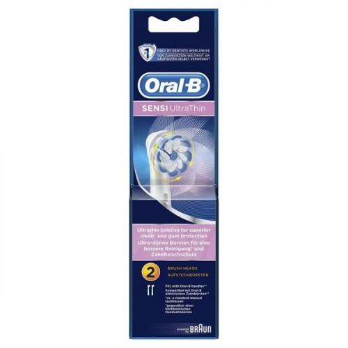 Oral-B Diş Fırçası Yedek Başlığı Sensitive Ultra Thin 2 li