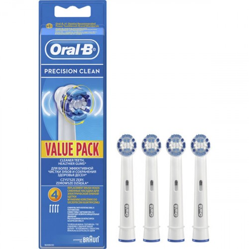 Oral-B Diş Fırçası Yedek Başlığı Precision Clean 4 lü