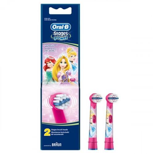 Oral-B Stages Power Diş Fırçası Yedeği 2'li Paket (PRINCESS)