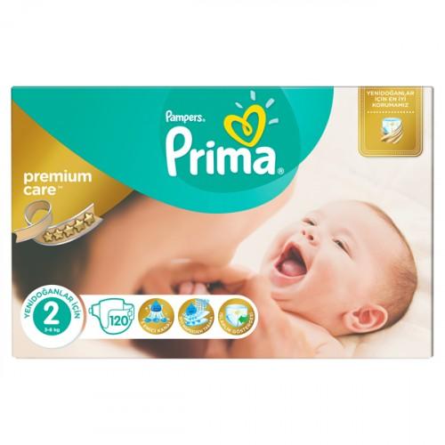 Prima Bebek Bezi Premium Care Dev Ekonomi Paketi 2 Beden 120 li