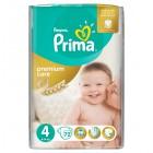 Prima Bebek Bezi Premium Care Dev Ekonomi Paketi 4 Beden 72 Adet