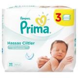 Prima Islak Mendil Hassas Ciltler İçin 56 lı (3 lü Paket)