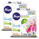 Sleepy Natural Bebek Bezi Junior 5 No 24 lü x 2 Adet