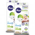 Sleepy Natural Bebek Bezi Mini 2 No 42 li x 2 Adet