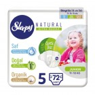 Sleepy Natural Bebek Bezi Junior 5 No 24 lü x 3 Adet