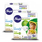 Sleepy Natural Bebek Bezi Junior Plus 5+ No 22 li x 2 Adet